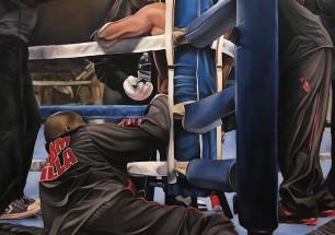 """Cam's Corner"", 48 x 60, oil on canvas 2016"